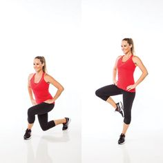 Curtsey and passé: A butt-burning exercise.
