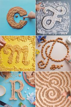 """""""A to Zoe"""" food typography by Tommy Perez Food Typography, Creative Typography, Typography Letters, Graphic Design Typography, Lettering Design, Hand Lettering, Alphabet Design, Typography Inspiration, Graphic Design Inspiration"""