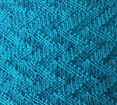 Forked lightning knitting stitches