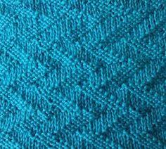 Forked lightning knitting stitches