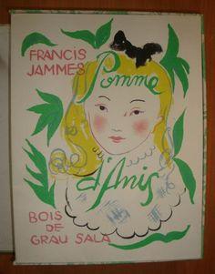 Pomme d'Anis. Bois de Grau Sala. Paris Le cheval de Bois 1946. 1 vol.in 8 en ff. Couv. illustrée en couleurs. Emboitage illustré.