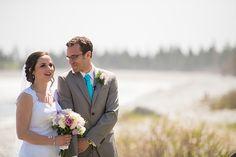 Maritime beach wedding at White Point Beach Resort