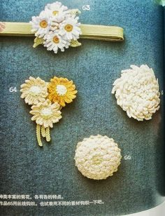 Цветы крючком схемы вязания