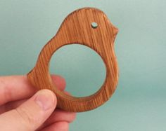 Organic Wooden teether toy Natural Wooden Toy от EcoBusinka