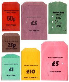 """Money bags"" in Ephemera"