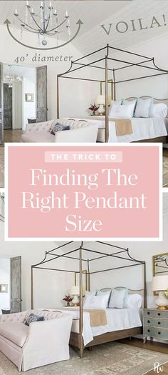 The Nifty Rule for Figuring Out What Size Pendant Light to Hang #pendant #light #rule #size #interior #design