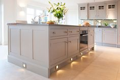 Make the kitchen one massive island! visit the website to view more - some great ideas ... www.hg1.co.uk