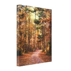 """Fall Journey Country Landscape Canvas Print 16"""" x 20"""" $126.95"""