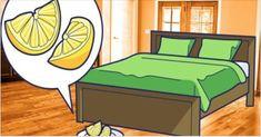 É por este motivo que você deve colocar algumas rodelas de limão ao lado de sua cama todas as noites antes de dormir!
