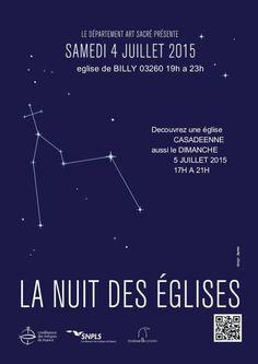 Nuit des églises - samedi 4 juillet 2015 - Billy (Allier)