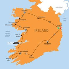 ENCHANTING EMERALD ISLE 2016 PREVIEW - 8 DAYS FROM $1,650* - Old-world Ireland comes to life as you travel around the country, from hearing the 'upstairs, downstairs' story of Strokestown Park to tasting fresh-baked scones at a traditional Irish Farm. #Dublin #Ballina #Galway #Killarney #Kilkenny