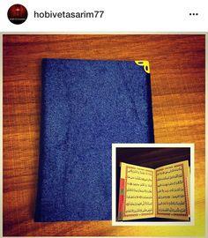 Düğün,nişan,kına,sünnet ve mevlitler için hediyelik ve hatıralık Kuran-ı Kerim...İrtibat için instagram hobivetasarim77