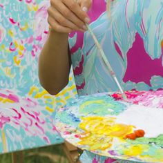 """Behind the scenes our latest shoot. Follow on snapchat @ """"lilly_pulitzer"""" to see #Resort365"""