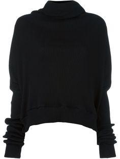 UNRAVEL shawl collar ribbed jumper. #unravel #cloth #jumper