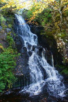 Waterfall at Dunvegan Castle