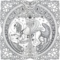mucha coloring pages | mandala intro graphic wip by swandog scraps 2005 2014 swandog i ve ...
