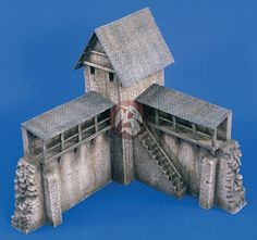 medieval diorama | ... Productions 1/35 Medieval Castle Set No.2 (Diorama Model kit) 1704