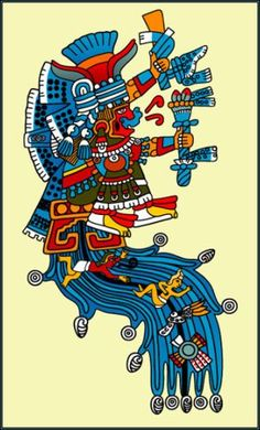 Chalchiuhtlicue takes special care of pregnant women and of young children, easing childbirth and defending the helpless. Immediately after birth, Aztec infants are ritually bathed, an act that uses water to secure Chalchiuhtlicue's blessing.