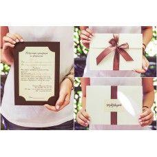 """Подарочный сертификат на фотосъемку """"Крем"""""""