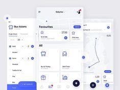 53 Ideas for design app ios layout Ui Design Mobile, App Ui Design, Interface Design, Map Design, User Interface, Graphic Design, Bus App, Flat Ui, Mobile App Ui
