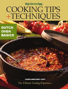 ISSUU - Dutch Oven Basics by Big Green Egg