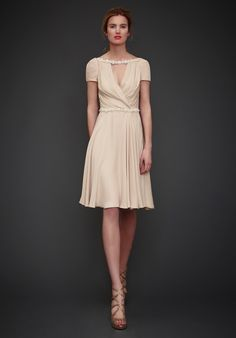 Jenny Packham SS13 Cruise == interesting, trying to decide what I think of the 'necklace' effect...
