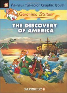 The Discovery of America (Geronimo Stilton #1): Geronimo Stilton: 9781597071581: AmazonSmile: Books