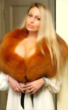 Fur coat womens sexy