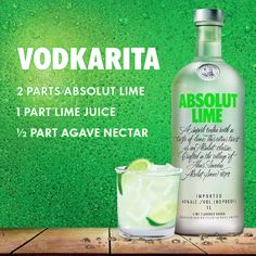 The Absolut Lime Vodkarita is a Signature Grammy Week Cocktail. Get the Cocktail Recipe Here