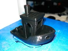 #3DBenchy - The jolly 3D printing torture-test by Keith1212