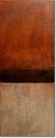 """Rebecca Crowell, Ruined Barn 60"""" x 24"""" (2009)"""