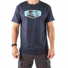 73c2ff22b3aa Endless Tie Dye - Men's Saltrock T-shirt -Blue Surf Outfit, Summer Tops