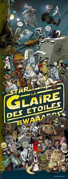 Cool Art: 'Star Wars' by Christophe Sénégas