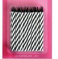 24 Zebra Candles by Culpitt, http://www.amazon.com/dp/B005F3HG0O/ref=cm_sw_r_pi_dp_MQ39qb128TTF2