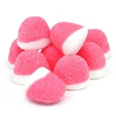 Gummy Pink Strawberry Pufflette Bites