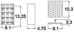 Stickles Storage   Stamp-n-Storage