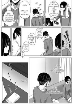 That Girl: Chapter IV by Elvendashears Chapter 1 /Chapter 2 /Chapter 3 /Chapter 4 / Chapter 5 as promised.. this one is for Rivamika fans! 8D i finished early cause levi is so sexy :p enjoy!