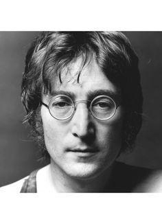 John Lennon Clear Round Glasses