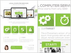 Computer Services Flyer Template 2