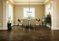 Artistic Timbers TimberCuts flooring in Hickory - Bark Brown.