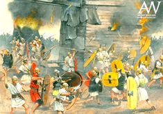 The Siege of Lilybaeum, by Zvonimir Grbasic Ancient Rome, Ancient History, Greek Soldier, Punic Wars, History Encyclopedia, Roman Soldiers, Roman History, Carthage, Military Art