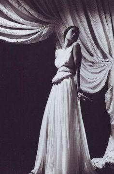 Madame Grés ALIX Silk jersey dress, autumn 1937, photographed by Constantin Joffé