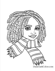 African american girls coloring pages ~ 11 Best african american coloring pages images in 2016 ...