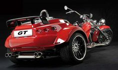 Resultado de imagen de rewaco trikes Trike Scooter, Trike Motorcycle, Custom Trikes, Sidecar, Things To Buy, Cars And Motorcycles, Porsche, Product Launch, Vehicles