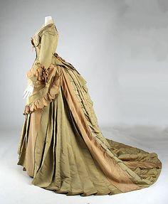 ~Dress ca. 1872~