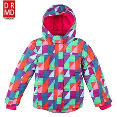 Girls Fleece snowboard jacket skiing winter waterproof Children  Mountaineering jacket outdoor ski suit Kids snow jackets cd4ac4974