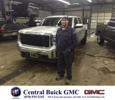 My experience buying my 2015 GMC Sierra was awesome. There was no pressure to buy and worked with me to get me where I needed to be. I am a repeat customer and the next vehicle I buy will definitely be from Justin Duckert at Central Buick GMC. - Eric Wright, Saturday, February 21, 2015  http://www.centralbuickgmc.com/?utm_source=Flickr&utm_medium=DMaxx_Photo&utm_campaign=DeliveryMaxx
