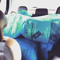 Transporter ;) Bringing some of our babies home :) #tshirt #hoodie #sweatshirt
