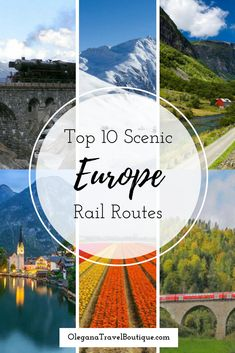 These rail routes take you to your destination, cutting through some of Europe's most scenic landscapes. Sit back and enjoy the view! #travel #usa #international #destinations #uniqueexperiences #luxuryresorts #family #couples #solo #europe #railroads #scenicroute #vacation