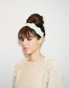 Fake Bangs Updo